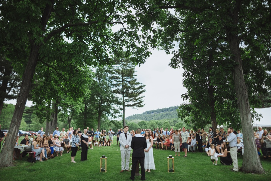Devils Lake Wedding Ceremony