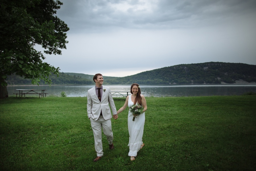 Devils Lake Wedding Story