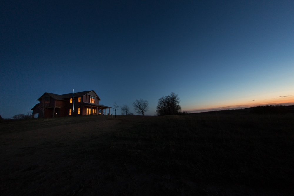 Architecture Photography at Dusk